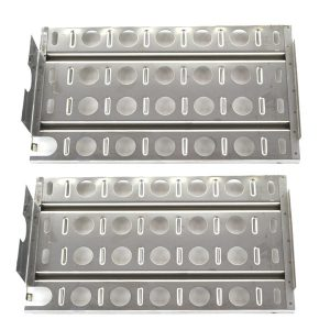 2 PACK REPLACEMENT STAINLESS STEEL BRIQUETTE TRAY HEAT SHIELD FOR LYNX  MODELS