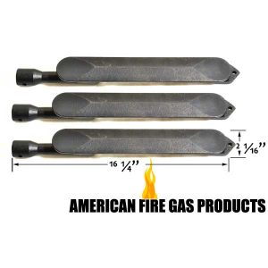 3 PACK CAST IRON BURNER FOR GRAND TURBO Y0662LP, Y0662NG, Y0663LP, Y0663NG, Y0665LP, Y0665NG GAS MODELS