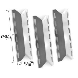 3-PACK-REPLACEMENT-STAINLESS-STEEL-HEAT-PLATE-FOR-JENN-AIR-740-0141-740-0142-750-0141-750-0142-KIRKLAND-720-0025-NEXGRILL-PERFECT-FLAME-PERFECT-GLO-MODEL-GRILLS