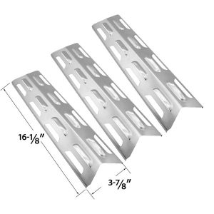 3-PACK-REPLACEMENT-STAINLESS-STEEL-HEAT-PLATE-SHIELD-FOR-KENMORE-MASTER-FORGE-PERFECT-FLAME-2518SL-LPG
