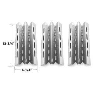 3-PACK-STAINLESS-STEEL-HEAT-PLATE-REPLACEMENT-FOR-SELECT-BROIL-KING- BROIL-MATE-HUNTINGTON-AND-STERLING-GAS-GRILL-MODELS