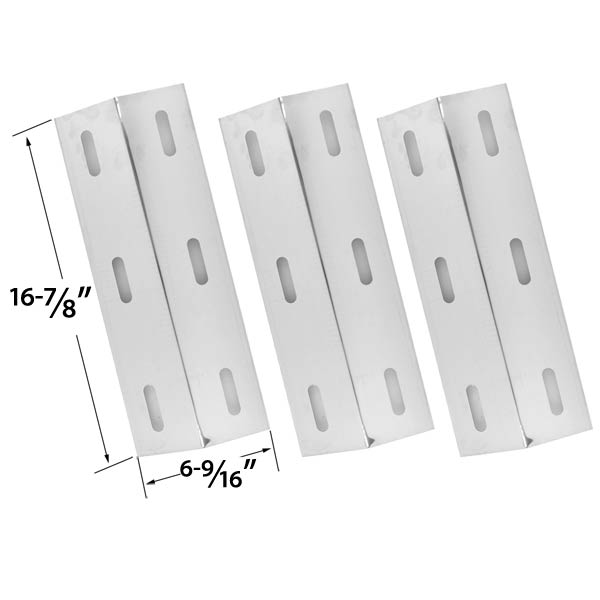 3-PACK-STAINLESS-STEEL-HEAT-PLATE-REPLACEMENT-FOR-SELECT-DUCANE-30500602-30400040-30500048-GAS-GRILL-MODELS