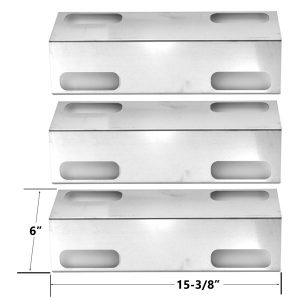 3-PACK-UNIVERSAL-STAINLESS-STEEL-HEAT-PLATE-FOR-DUCANE-AFFINITY-3000-SERIES-3073101-AFFINITY-3073101-GAS-GRILL-MODELS