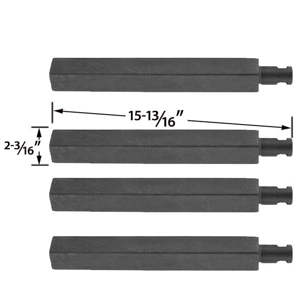 4-PACK-REPLACEMENT-CAST-IRON-GRILL-BURNER-FOR-CHARBROIL-61252705-463241004-463241904-463247404