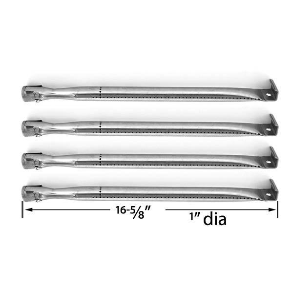 4-PACK-REPLACEMENT-STAINLESS-STEEL-BURNER-FOR-SHINERICH-SRGG41009-TERA-GEAR-GSS3220A-UNIFLAME-GBC1069WB-C
