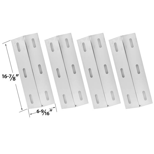 4-PACK-REPLACEMENT-STAINLESS-STEEL-HEAT-PLATE-FOR-SELECT-GAS-GRILL-MODELS-BY-DUCANE-4100-4200-4400-S3200-S5200