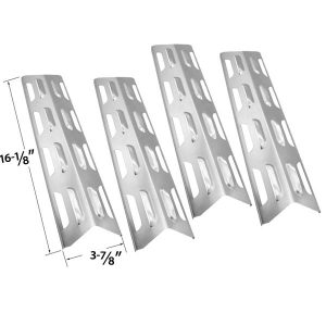 4-PACK-REPLACEMENT-STAINLESS-STEEL-HEAT-PLATE-SHIELD-FOR-BACKYARD-GRILL-BY12-084-029-97-BY12-084-029-98