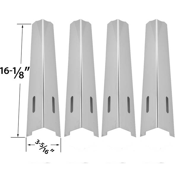 4-PACK-REPLACEMENT-STAINLESS-STEEL-HEAT-SHIELD-FOR-KENMORE-JENN-AIR-IGLOO-BBQTEK-BBQ-GRILLWARE-KITCHENAID