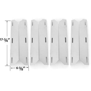 4-PACK-REPLACEMENT-STAINLESS-STEEL-HEAT-SHIELD-FOR-NEXGRILL-681955-720-0074-720-0093-720-0096-720-0101