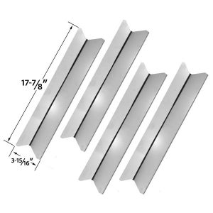 4-PACK-STAINLESS-STEEL-HEAT-SHIELD-REPLACEMENT-FOR-PRESIDENTS-CHOICE-10011012-GSS2520JA
