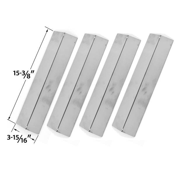 4-PACK-STAINLESS-STEEL-VAPORIZOR-BAR-FOR-CHARMGLOW-MODELS-810-8410-F-810-8410-S-BRIKMANN-GRILL-KING-GAS-GRILL-MODELS