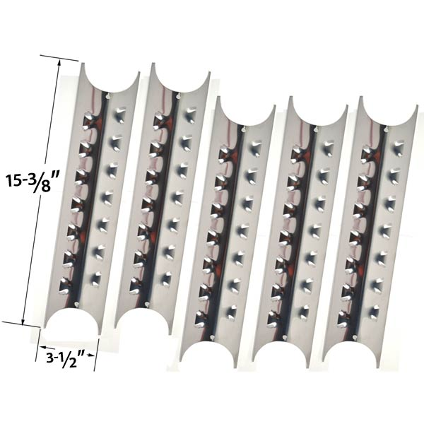 5-PACK-REPLACEMENT-STAINLESS-STEEL-HEAT-PLATE-FOR-SELECT-GAS-GRILL-MODELS-BY-PERFECT-FLAME-24137-24138-P2518SL-LPG-2518SL-NG-2518SLN-LPG