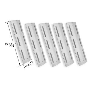 5-PACK-REPLACEMENT-STAINLESS-STEEL-HEAT-SHIELD-FOR-KMART-640-117694-117-BRINKMANN-4-BURNER-8401-810-8410-F