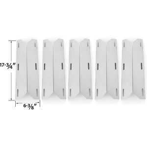 5-PACK-REPLACEMENT-STAINLESS-STEEL-HEAT-SHIELD-FOR-NEXGRILL-GLEN-CANYON-JENN-AIR-720-0141-LP-720-0142