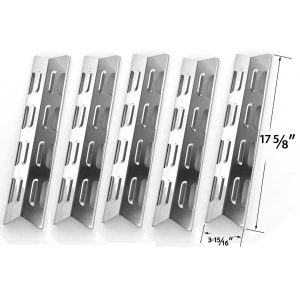 5-PACK-STAINLESS-STEEL-HEAT-PLATE-REPLACEMENT-FOR-BROILCHEF-GSS2520JA-(06695002)-GSS2520JAN-(06695007)