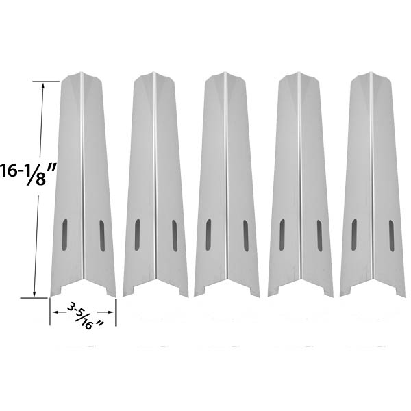 5-PACK-STAINLESS-STEEL-HEAT-PLATE-REPLACEMENT-FOR-LIFE-HOME-GSC2318J-GSC2318JN-GSC2418J-GSC2418JN