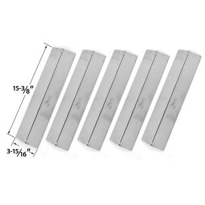 5-PACK-STAINLESS-STEEL-VAPORIZOR-BAR-FOR-CHARMGLOW-MODELS-810-8410-F-810-8410-S-BRIKMANN-GRILL-KING-GAS-GRILL-MODELS