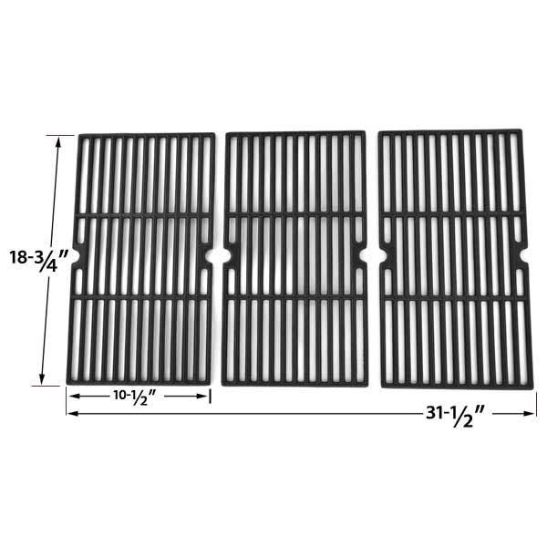 CAST-IRON-COOKING-GRID-FOR-CHARBROIL-463241904-AND-CENTRO-5000RT-85-1211-0-85-1251-4-G60104-G60105-463241004-GAS-GRILL-MODELS-SET-OF-3