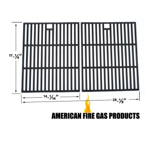CAST-IRON-COOKING-GRIDS-FOR-BRINKMANN-810-8425-S-MEMBERS-MARK-720-0582B-720-0691A-GAS-MODELS