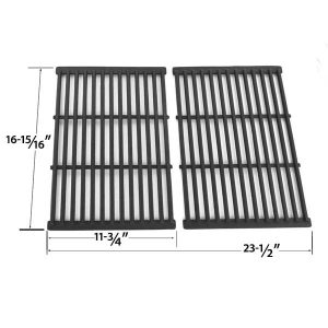 CAST-IRON-REPLACEMENT-COOKING-GRID-FOR-GRILL-CHEF-SS525-B-SS525-BNG-MEMBERS-MARK-REGAL04CLP-AND-BBQ-PRO-BQ51011-GAS-GRILL-MODELS-SET-OF-2