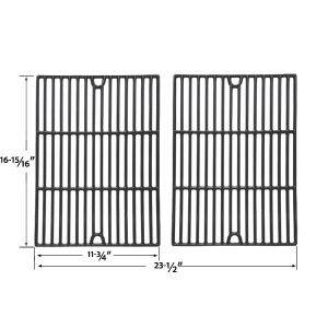GLOSS-CAST-IRON-COOKING-GRIDS-FOR-PATIO-CHEF-SS48-SS54-SS64-SS64LP-SS64NG-AND-BRINKMANN-2500-2500-PRO-SERIES-1