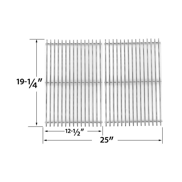 HEAVY-DUTY-REPLACEMENT-STAINLESS-STEEL-COOKING-GRATES-FOR-BRINKMANN-CHARMGLOW-JENN-AIR-NEXGRILL