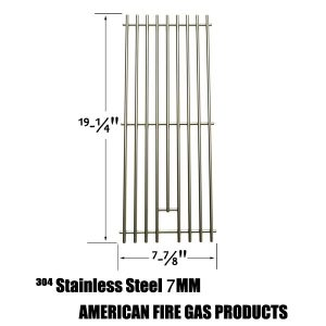 REPLACEMENT STAINLESS STEEL COOKING GRATES FOR NEXGRILL 720-0584A, 720-0008-T, 720-033 AND PERFECT FLAME 720-0335, 730-0335 GAS GRILL MODELS