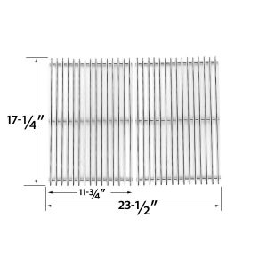 HEAVY-DUTY-REPLACEMENT-STAINLESS-STEEL-COOKING-GRATES-FOR-WEBER-7526-STAINLESS-STEEL-COOKING-GRATES-FOR-GENESIS-B