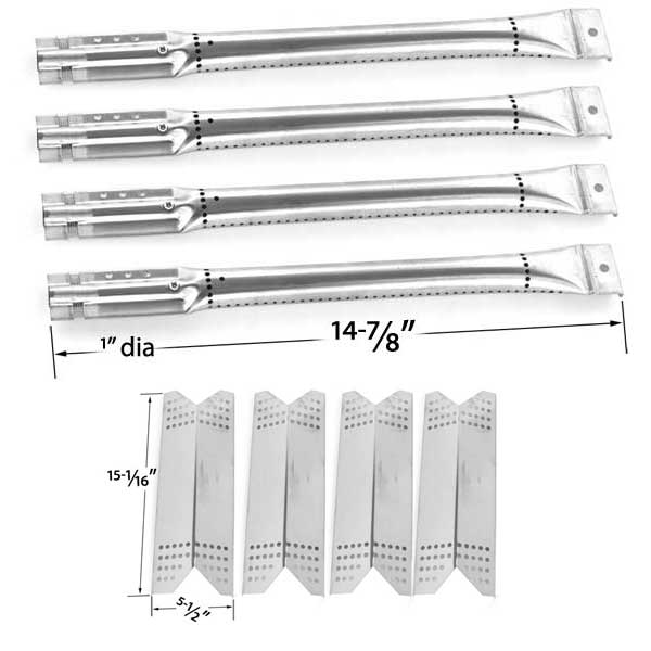 NEXGRILL-720-0670-C-BBQ-GAS-GRILL-REPAIR KIT-FOR-INCLUDES-4-STAINLESS-BURNERS-AND-4-STAINLESS-HEAT-PLATES-1