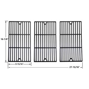PORCELAIN-CAST-IRON-REPLACEMENT-COOKING-GRIDS-FOR-MASTER-CHEF-85-3100-2-85-3101-0-G43205-T480 AND-KENMORE-463420507-461442513-GAS-GRILL-MODELS-SET-OF-3-1