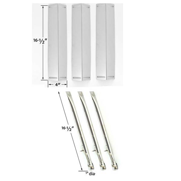 REPAIR-KIT-FOR-BBQ-GRILLWARE-GGPL-2100-GAS-GRILL-INCLUDES-3-STAINLESS-STEEL-BURNERS-AND-3-STAINLESS-STEEL-HEAT-SHIELDS-1