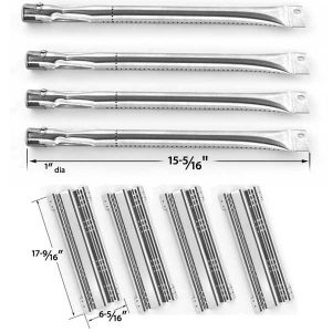 REPAIR-KIT-FOR-BRINKMANN-CHARMGLOW-810-7451-F-BBQ-GRILL-INCLUDES-4-STAINLESS-BURNERS-AND-4-STAINLESS-HEAT-PLATES-1