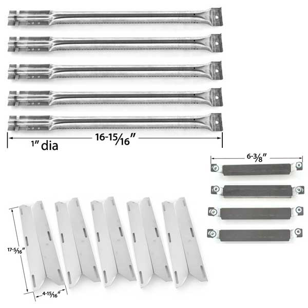 REPAIR-KIT-FOR-CHARMGLOW-720-0396-720-0578-FIVE-BURNER-GAS-GRILL-INCLUDES-5-STAINLESS-STEEL-BURNERS-1