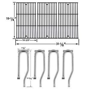REPAIR-KIT-FOR-JENN-AIR-720-0337-7200337-720-0337-BBQ-GAS-GRILL-INCLUDES-4-STAINLESS-BURNER-AND-PORCELAIN-COOKING-GRATES-1