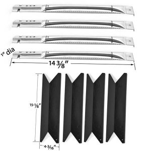 REPAIR-KIT-FOR-NEXGRILL-RED-4-BURNER-720-0649-BBQ-GRILL-INCLUDES-4-STAINLESS-BURNERS-AND-4-PORCELIAN-HEAT-PLATES-1