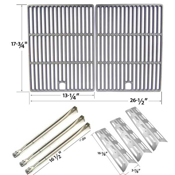repair-kit-for-perfect-flame-slg2007b-63033-slg2007bn-64876-bbq-gas-grill-includes-3-stainless-burners