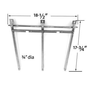 REPLACEMENT-STAINLESS-STEEL-BURNER-FOR-SONOMA-949725CGR27-SONOMA-949725CGR27LP-SONOMA-949725CGR30-GRILL-MODELS