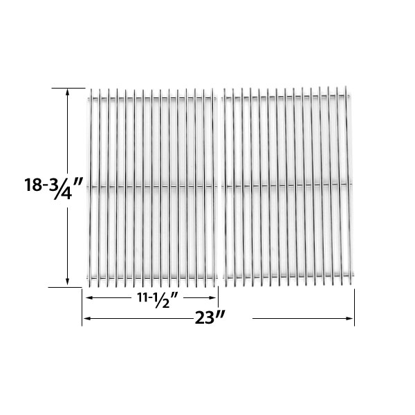 REPLACEMENT-STAINLESS-STEEL-COOKING-GRID-FOR-KENMORE-(SEARS)-119.16301-119.16301800-119.16302-119.16433010