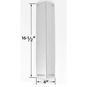 REPLACEMENT-STAINLESS-STEEL-HEAT-PLATE-FOR-BBQ-GRILLWARE-CHARBROIL-BRINKMANN-810-3800-S-MASTER-CHEF-GCP-2601-GAS-MODELS