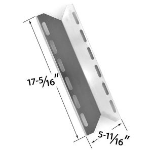 REPLACEMENT-STAINLESS-STEEL-HEAT-PLATE-FOR-CHARMGLOW-720-0125-720-0234-720-0289-HOME-DEPOT-SS-5-BURNER-NEXGRILL-PERFECT-FLAME-PERFECT-GLO-MODEL-GRILLS
