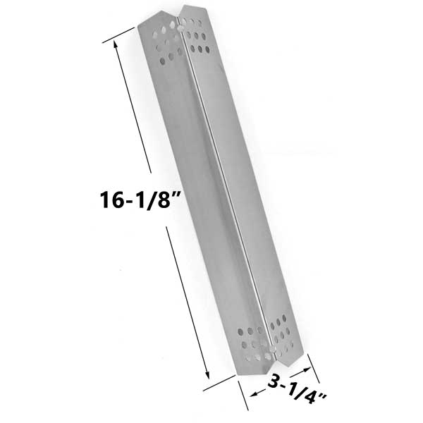 REPLACEMENT-STAINLESS-STEEL-HEAT-PLATE-FOR-JENN-AIR-720-0709-720-0709B-KITCHEN-AID-720-0745-720-0826-730-0336D-GAS-GRILL-MODELS
