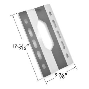REPLACEMENT-STAINLESS-STEEL-HEAT-SHEILD-FOR-HARRIS-TEETER-210001-21001-AND-MEMBERS-MARK-720-0586A-GAS-GRILL-MODELS