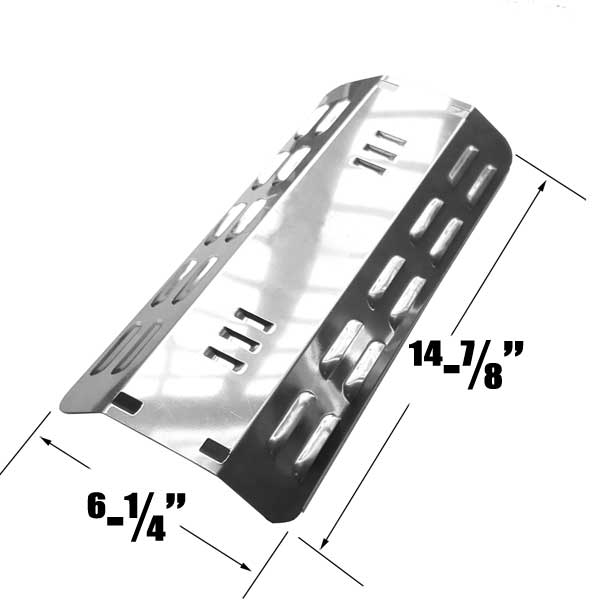 STAINLESS-HEAT-PLATE-FOR-DYNA-GLO-DGP350NP-MASTER-FORGE-MFA350CNP-GAS-MODELS