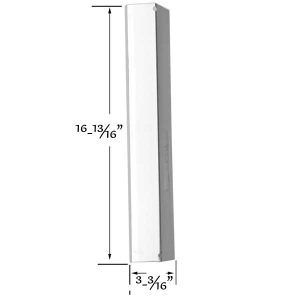 STAINLESS-HEAT-SHIELD-FOR-BRINKMANN-810-1750-S-810-1751-S-810-3551-0-810-3820-S-810-3821-S-810-3821-F-GAS-MODELS