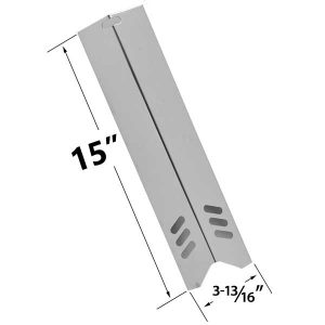 STAINLESS-STEEL-BBQ-GAS-GRILL-HEAT-PLATE-FOR-UNIFLAME-GBC1059WB-GBC1059WB-C-GBC1059WE-C-GBC1069WB-C-GBC1143W-C-BHG-BACKYWARD-GAS-GRILL-MODELS