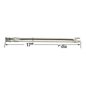 STAINLESS-STEEL-BURNER-FOR-BARBEQUES-GALORE-DUCANE-30400040-30400044-30400045-30400046-30537401-STRADA-GAS-MODELS