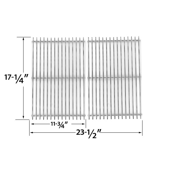 STAINLESS-STEEL-COOKING-GRID-FOR-NEXGRILL-KALAMAZOO-KENMORE-WEBER-GAS-MODELS