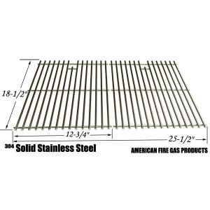STAINLESS STEEL COOKING GRID REPLACEMENT FOR DCS 27 SERIES, 27ABQ, 27ABQR, 27BQ, 27BRQ AND MEMBERS MARK B09PG2-4B GAS GRILL MODELS, SET OF 2