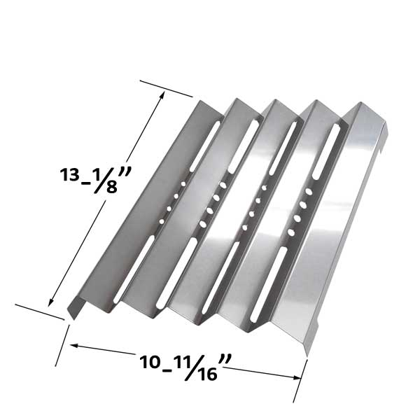 STAINLESS-STEEL-HEAT-PLATE-FOR-KENMORE-141.152271-141.15337-141.153371-141.153372-GAS-MODELS