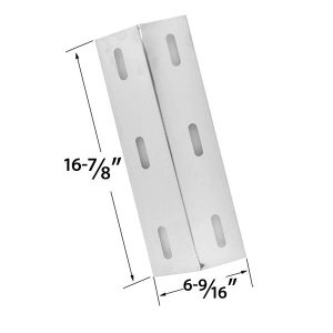 STAINLESS-STEEL-HEAT-PLATE-REPLACEMENT-FOR-SELECT-DUCANE-30500602-30400040-30500048-GAS-GRILL